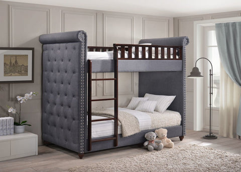 Amelia Upholstered Bunk Bed