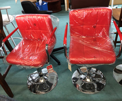 Charmax Red Bar stools