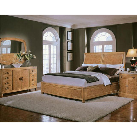 Citations King Bed/Armour/Night Stand CLOSEOUT