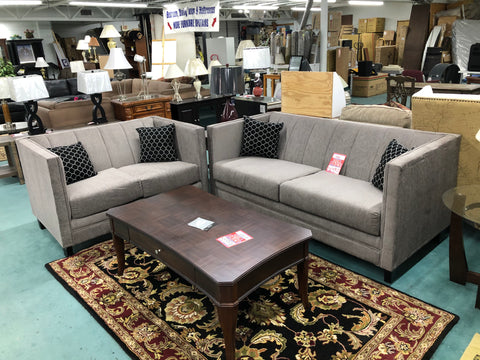 Sanchez Sofa & Loveseat