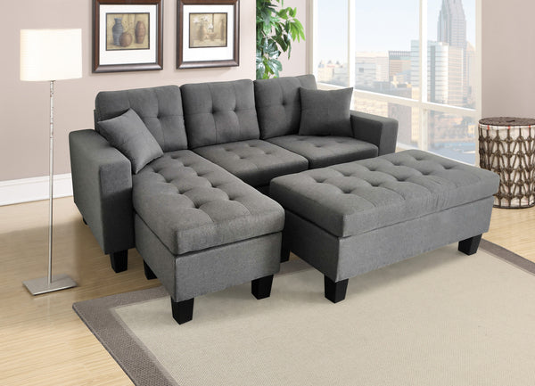 Gabriel Sectional with Ottoman