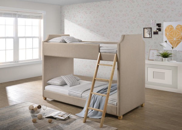 Olivia Upholstered Bunk Bed