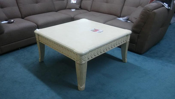 Cream Coffee and End Table Set