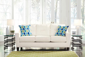 Ashley Forsan White Sofa