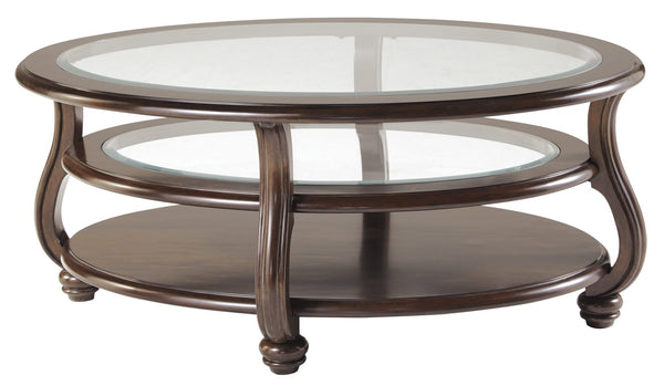 Ashley Oval Yexenberg coffee table