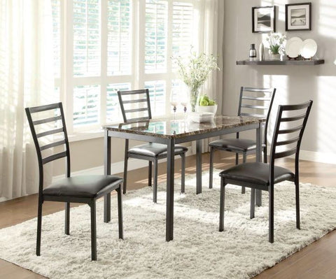Flannery 5 Pc Dining Set