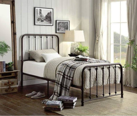 Lackspur Metal Bed Frame