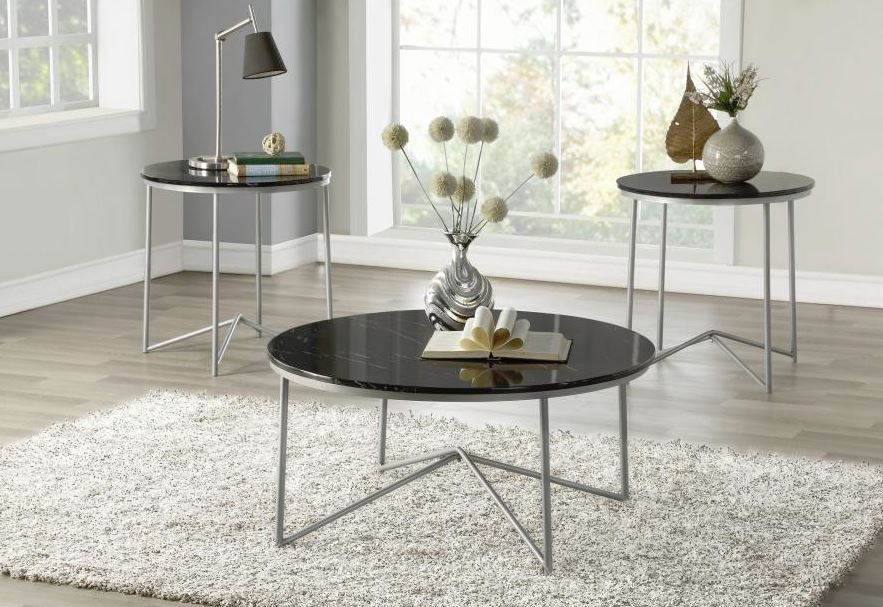 Perivale 3 PC Occasional Table Set
