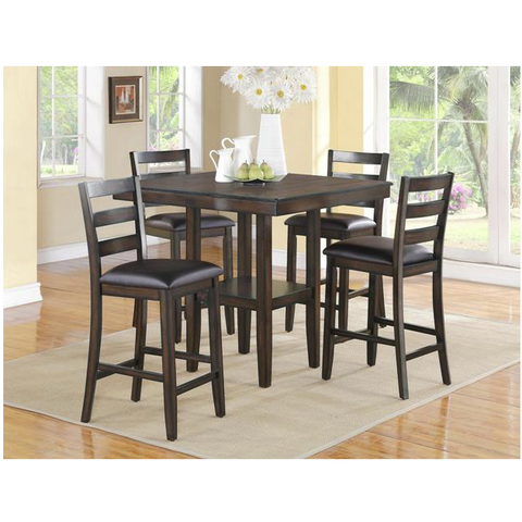 Tahoe 5 pc pub set Dark or Grey