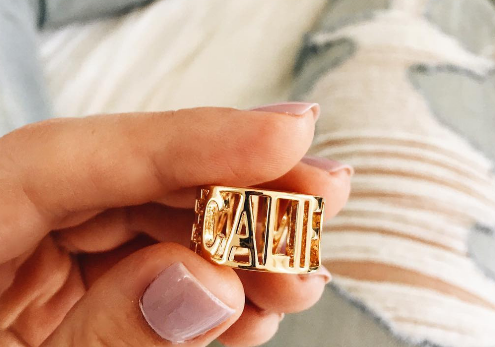 Custom Wide Cut Out Ring from Capsul Jewelry