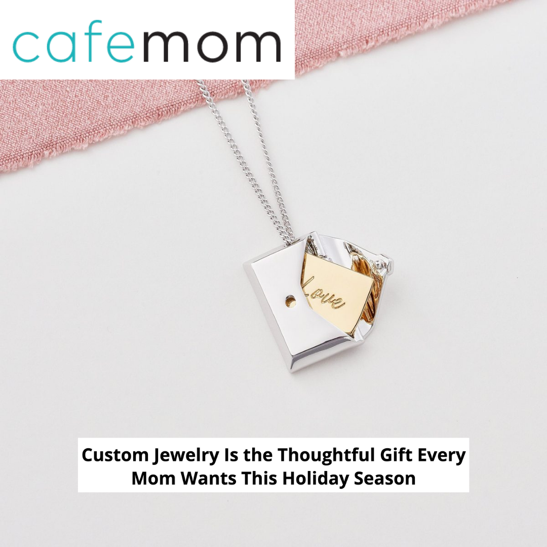 Cafemom chooses Capsul Envelope Locket Necklace