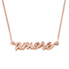 Sterling Silver Amore Signature Necklace from Capsul Jewelry