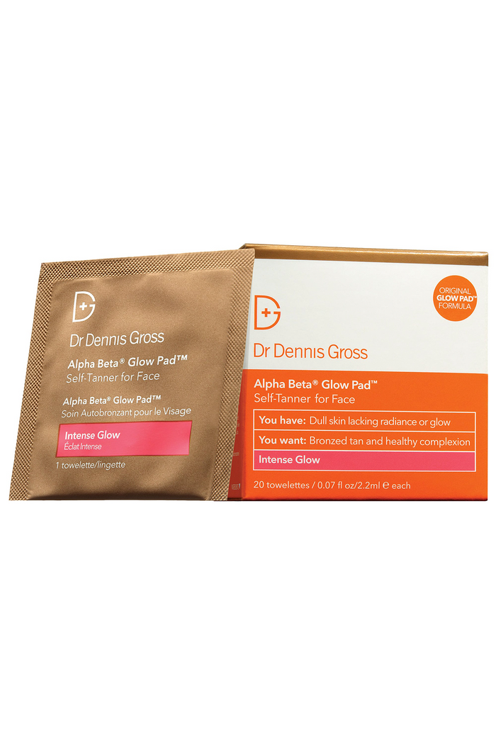 Dr Dennis Gross Alpha Beta Glow Pad Intense Glow For Face
