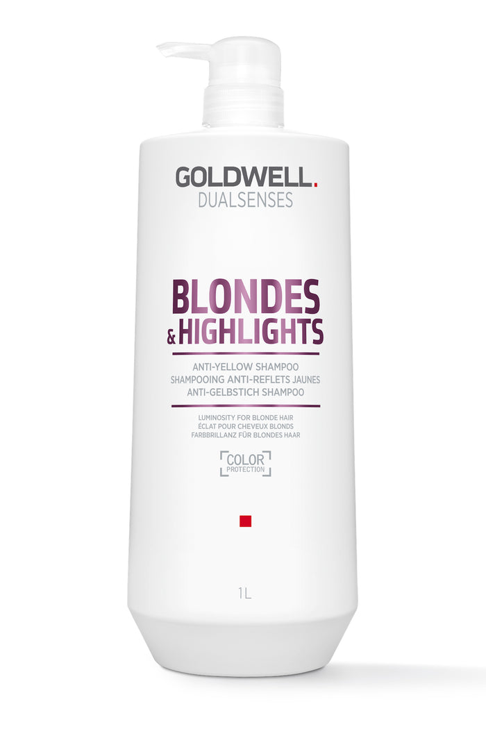 Goldwell Dualsenses Blondes & Highlights Anti-Brass Shampoo
