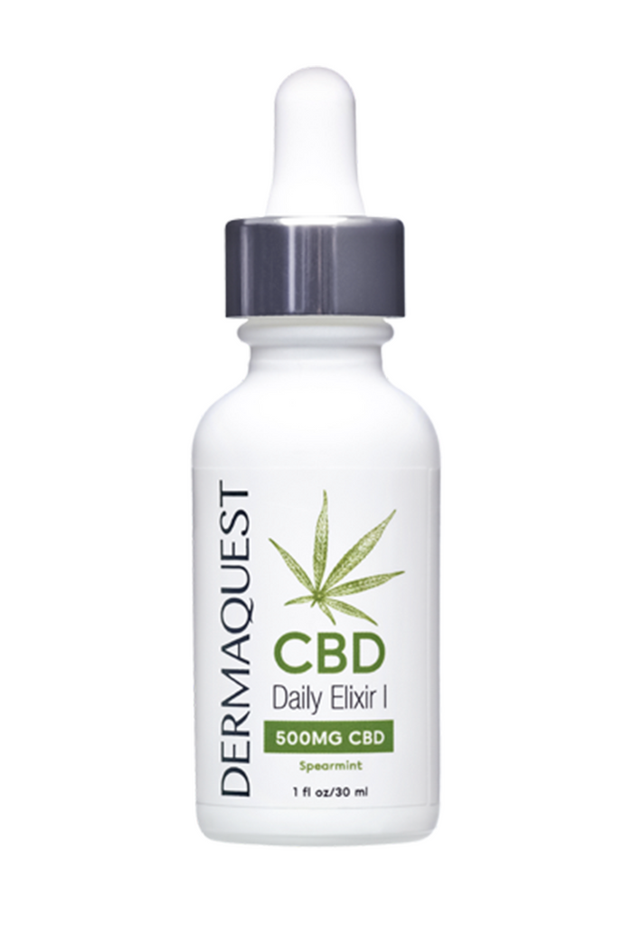 Dermaquest CBD Daily Elixir 500 mg Spearmint