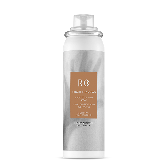 R+Co Root Touch-Up Spray: Light Brown