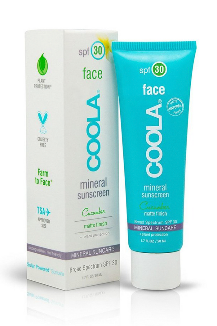 Coola Face SPF30  Cucumber Matte Finish - Glamalot
