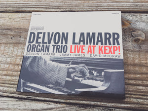 <b>DELVON LAMARR ORGAN TRIO</b><br><i>Live At KEXP!</i><br>CD