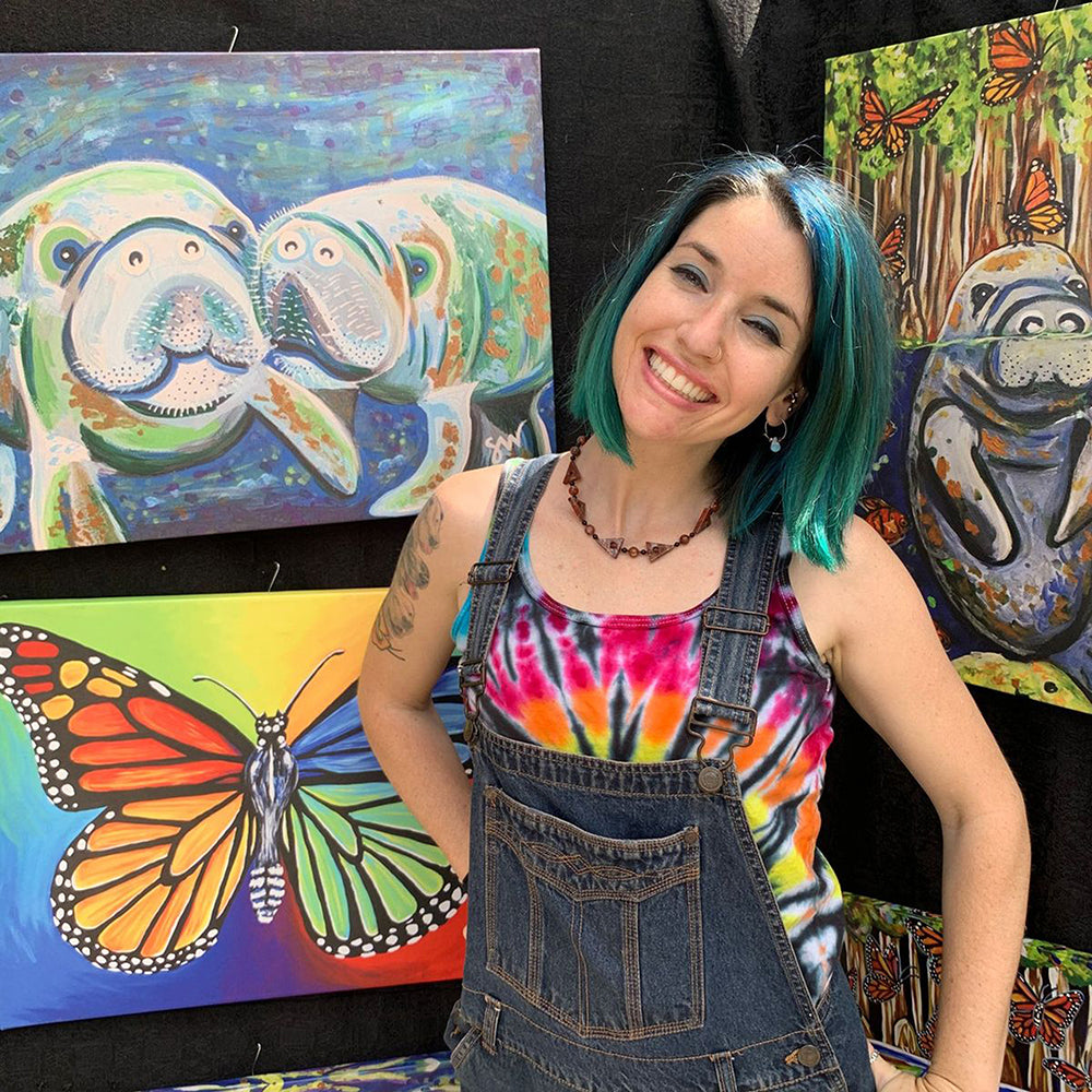 Funky, Colorful, & Whimsical Art with Guest Artist Samm Wehman