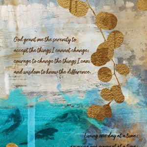 Design Highlight: The Serenity Prayer