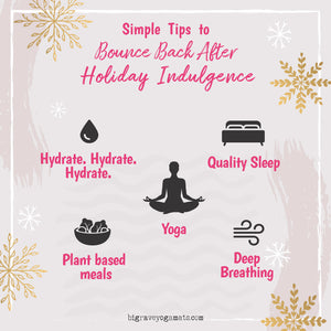 Infographic: Simple Tips to Bounce Back After Holiday Indulgence