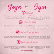 Yoga vs. Gym