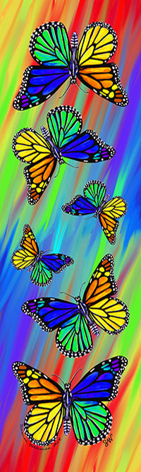 Rainbow Monarch by Samm Wehman