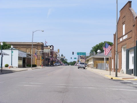 Main Street in St. James Minnesota