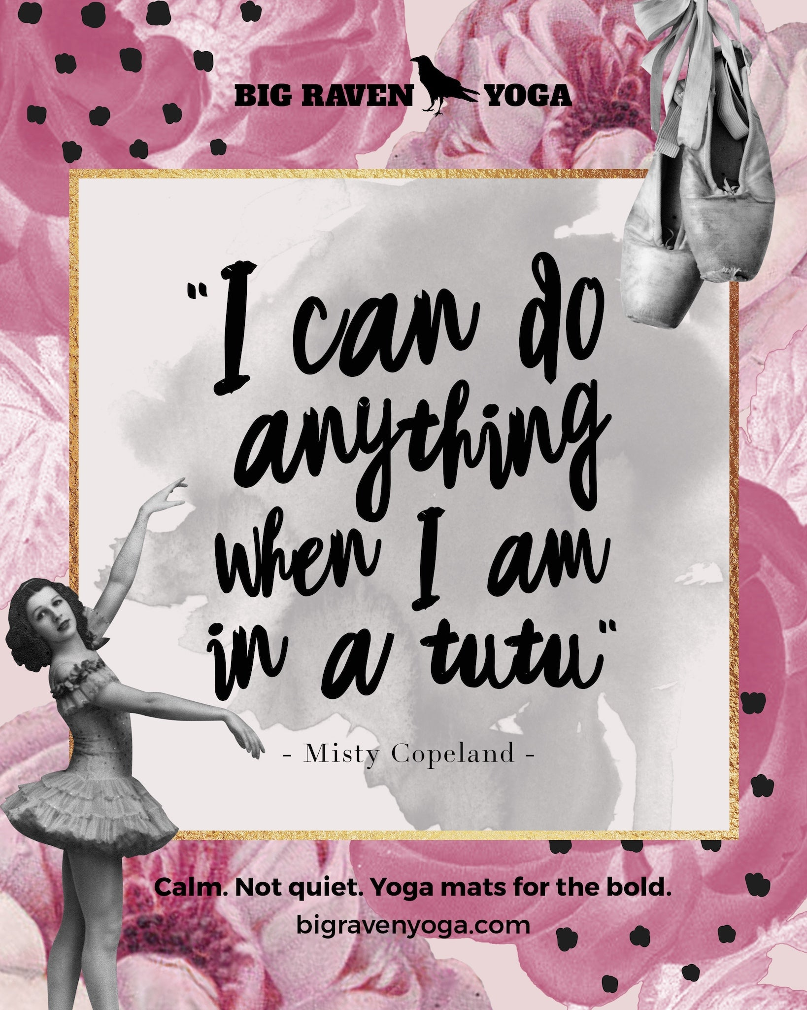 Quote: I can do anything when I am in a tutu. Misty Copeland