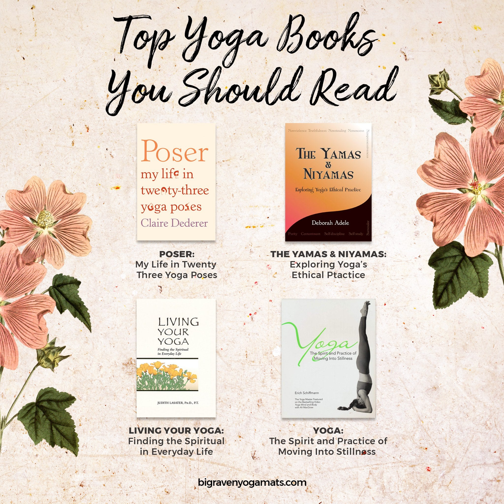 Infographic: Top Yoga Books You Should Read (Listed Below)