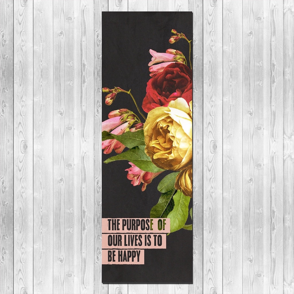 The Purpose of Life yoga mat
