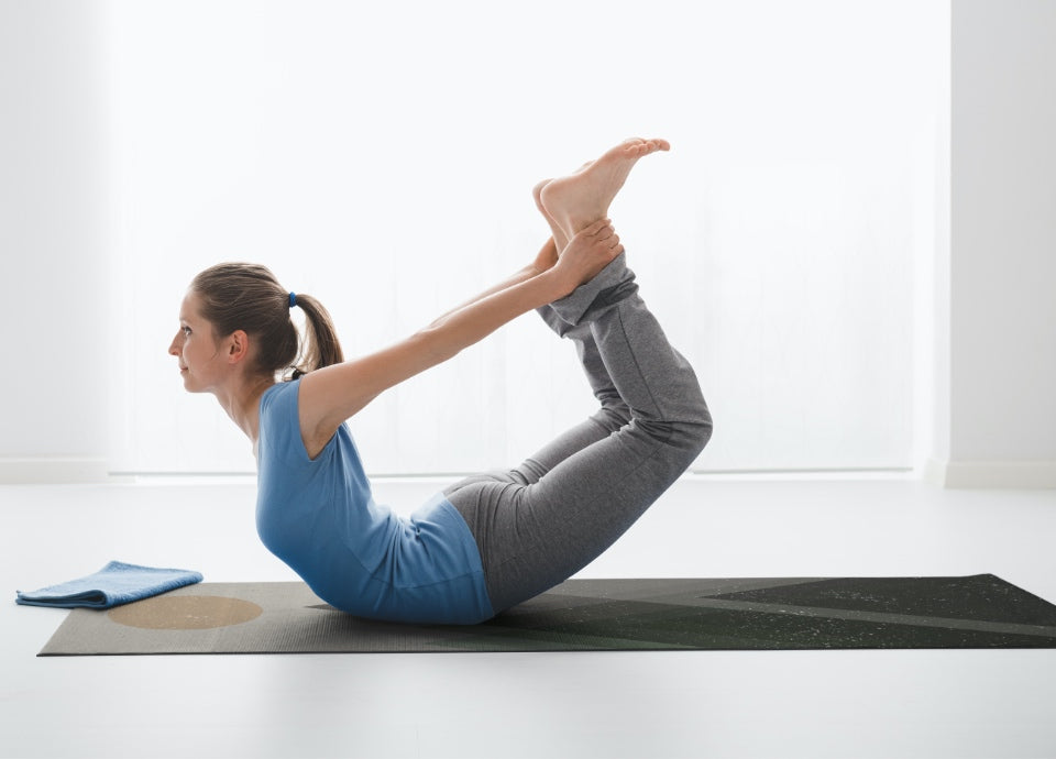 Big Raven Yoga | Gentle Moonlight Machine-Washable Microfiber Suede Yoga Mat