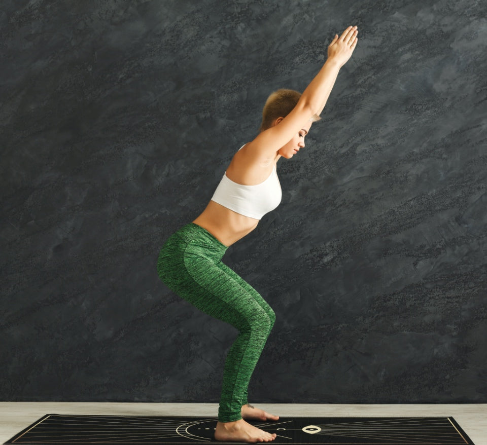Big Raven Yoga | Seeing and Believing Machine-Washable Microfiber Suede Yoga Mat