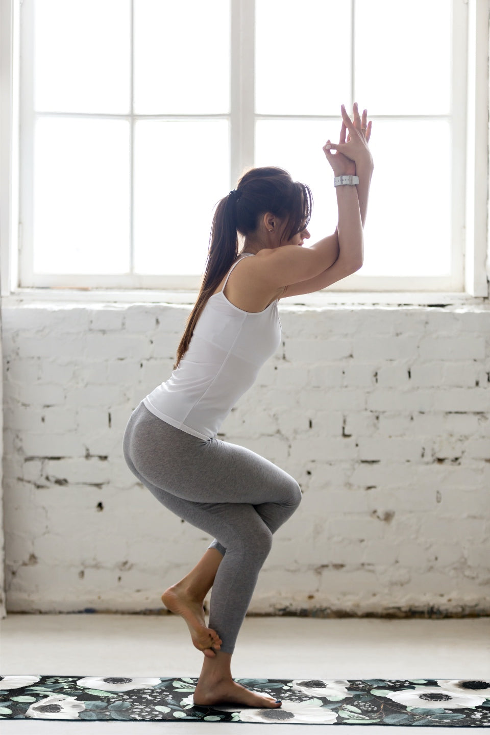 Big Raven Yoga | Mandi's Custom Bridal Machine-Washable Microfiber Suede Yoga Mat