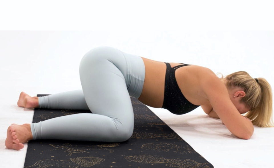 Big Raven Yoga | Star Sign Machine-Washable Microfiber Suede Yoga Mat