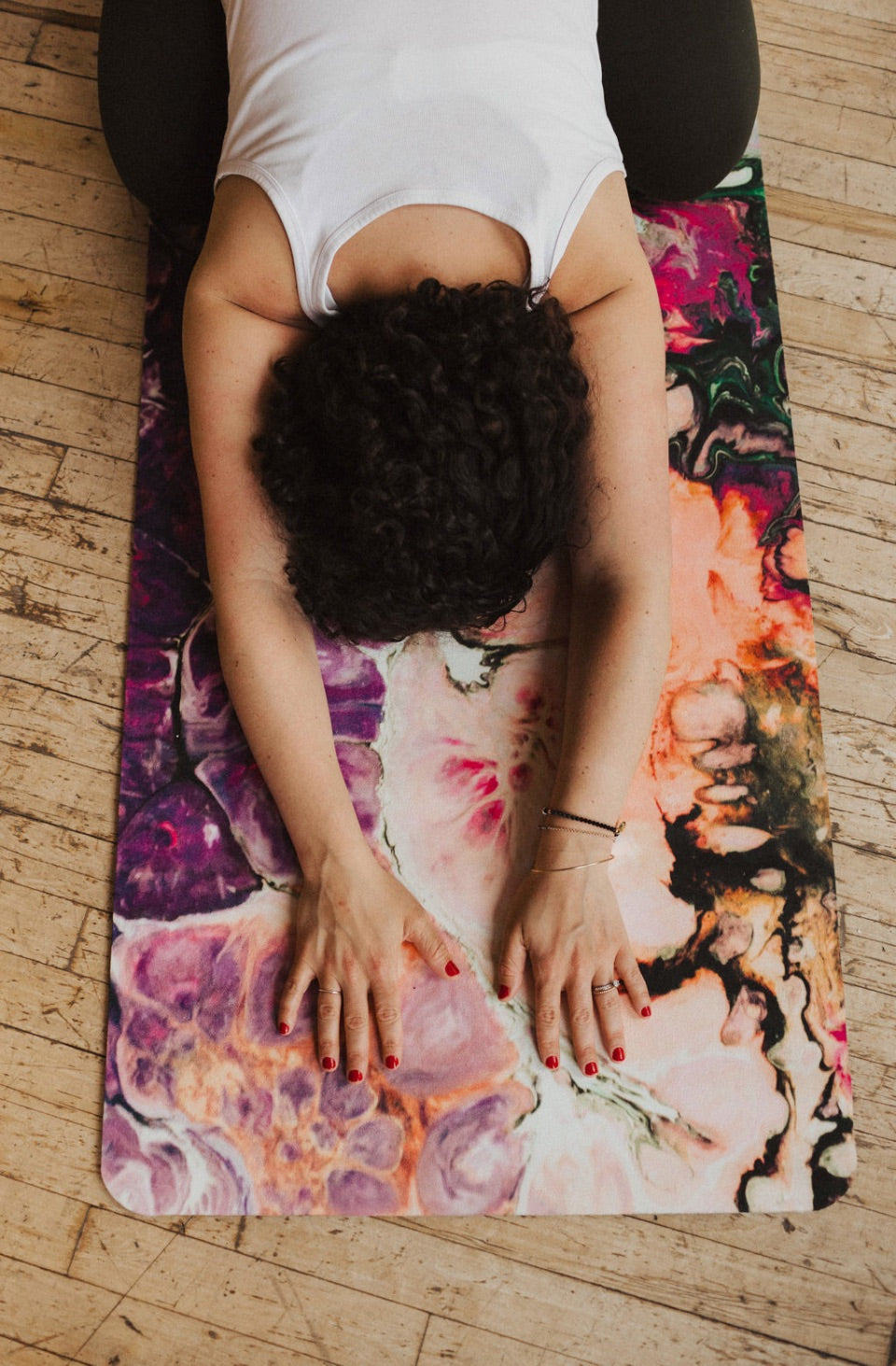Big Raven Yoga | Water, Wind, Fire and Earth Machine-Washable Microfiber Suede Yoga Mat