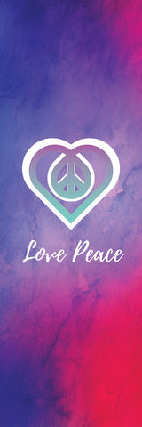 Big Raven Yoga Love Peace Yoga Mat