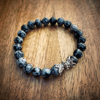Big Raven Yoga Black Bracelet Bracelet