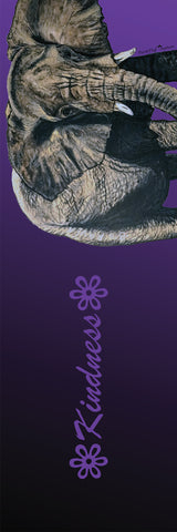 Big Raven Yoga Kindness by Lisa Martin Yoga Mat