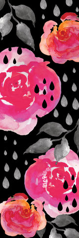 Big Raven Yoga Raindrops on Roses Yoga Mat
