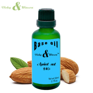 Vicky & Winson ,Apricot kernel oil, base oil, skin care,almond oil, Massage, Moisturizing