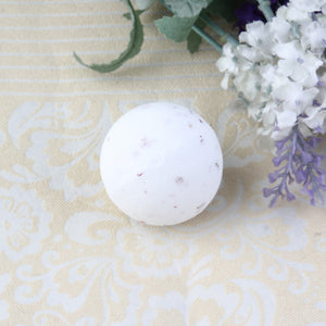 YANQINA, Rose, Dry Flower Bubble Bath Bomb, Essential Oil, Bath, Fizzy