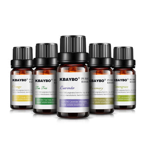 Essential Oil Diffuser,Aroma Oil Humidifier,Lavender,Tea Tree,Rosemary,Lemongrass,Orange