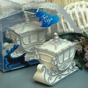 Handmade Party/Wedding Supplies,Romantic,Christmas Snow Sled Craft Candle