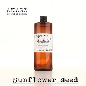 AKARZ, Sunflower seed oil,aromatherapy,skin,body care, massage, carrier base oil