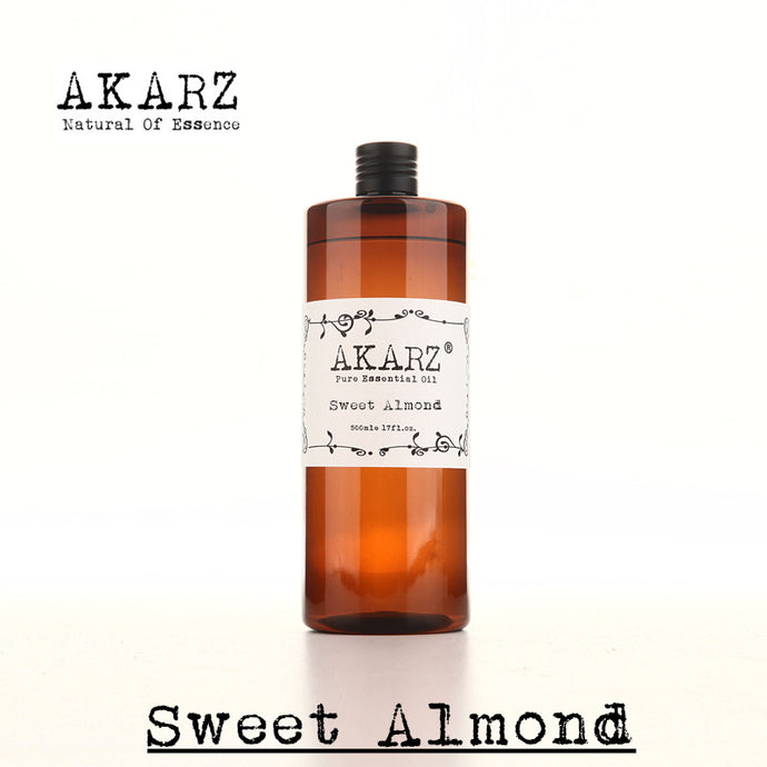 AKARZ,sweet almond oil,aromatherapy ,skin,body care, sweet almond