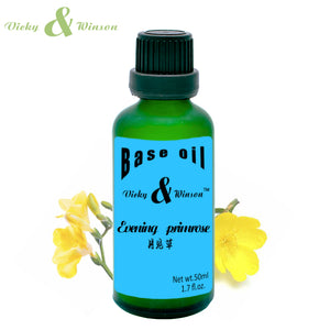 Vicky & Winson,Evening primrose oil,Natural Base Oil,Moisturizing,Increase Elasticity