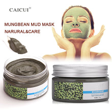 CAICUI Brand,Natural Mungbean Oil-control Mud Mask, Moisturizing,Deep Cleaning, Pores