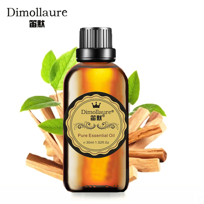 Dimollaure, Sandalwood essential oil, Relax spirit, Aromatherapy body massage essential oil