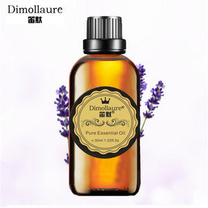 Dimollaure, Lavender essential oil helps sleep, aromatherapy oil,acne treament, Spa, massage oil skin care